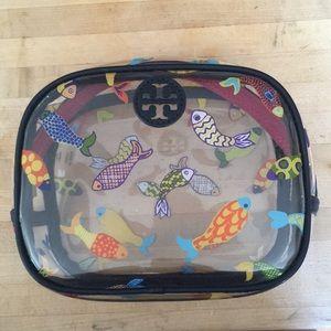 Tory Burch Fish Cosmetic Case 🐟